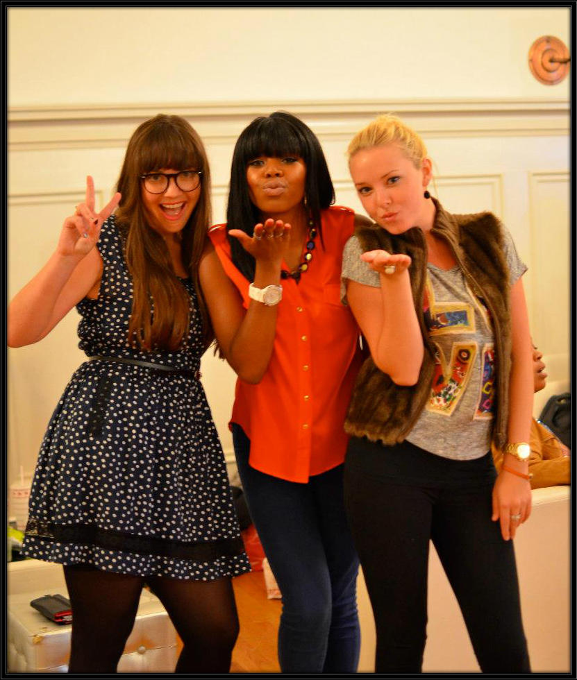 Digitally Chic Co- Founders-  Ashley Gustafson, Angelica Benjamin, Natalie Grinnell.